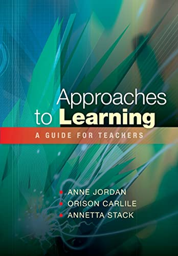 9780335226702: Approaches to Learning: A Guide for Educators