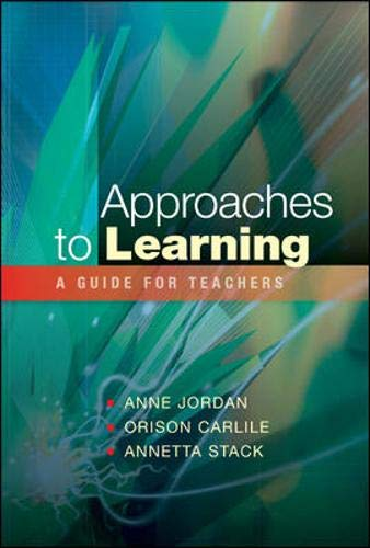 9780335226719: Approaches to Learning: A Guide for Educators
