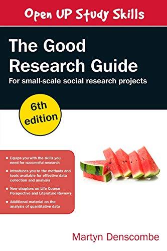 9780335226863: The Good Research Guide, 6th Edition