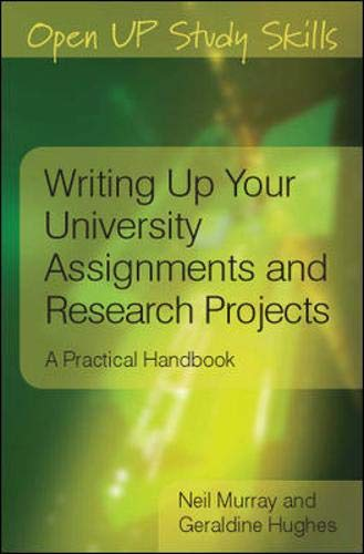 9780335227181: Writing up your university assignments and research projects (Open Up Study Skills)