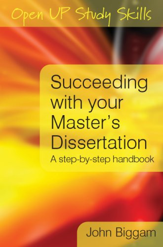 9780335227198: Succeeding with you Master's Dissertation: A Step-by-Step Handbook