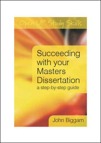 9780335227204: Succeeding with you Master's Dissertation