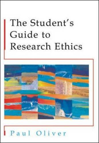 9780335227334: The Students' Guide to Research Ethics