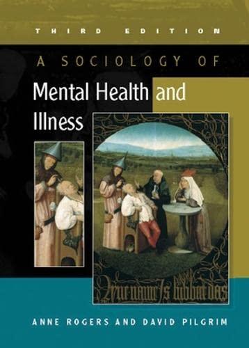 a sociology of mental illness