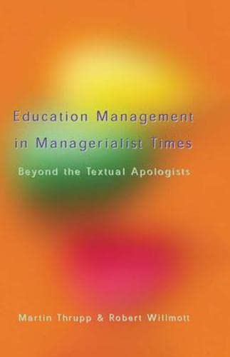 9780335228072: Educational Management in Managerialist times