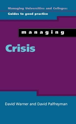 9780335228317: Managing Crisis