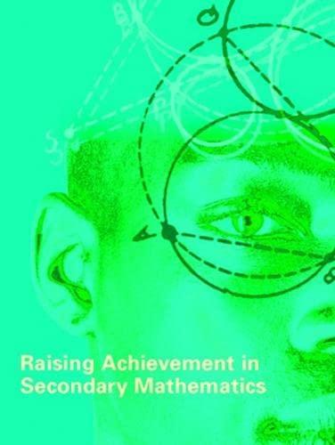 9780335228348: Raising Achievement in Secondary Mathematics