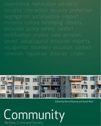 9780335229338: Community (Welfare, Crime and Society)