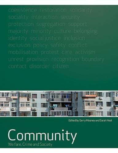 9780335229345: Community: welfare, crime and society: Welfare, Crime and Society