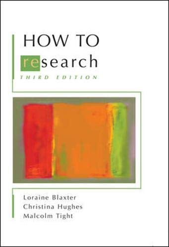 9780335229536: How to Research