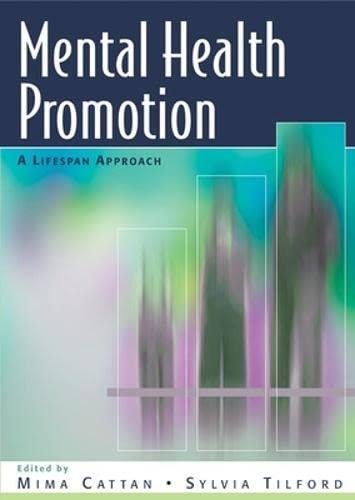 9780335229574: Mental Health Promotion