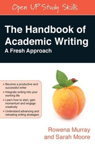 9780335230075: The Handbook of Academic Writing