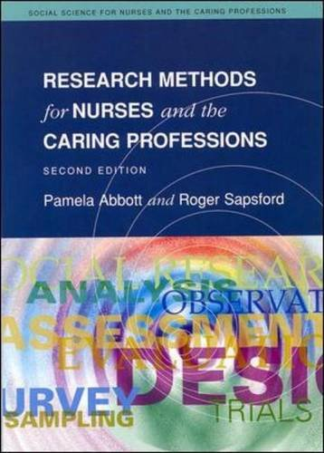 9780335230440: Research Methods For Nurses And The Caring Professions