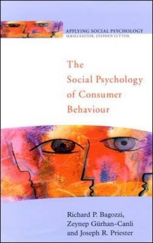 9780335230563: The Social Psychology of Consumer Behaviour