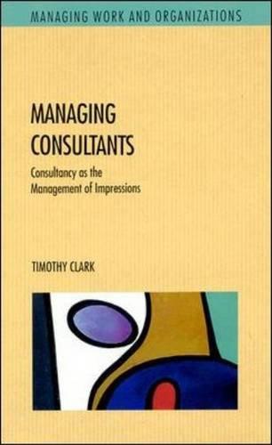 9780335231089: Managing Consultants