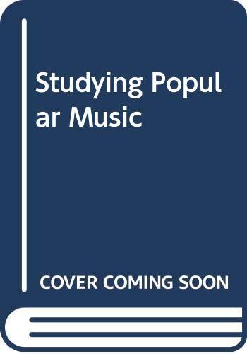9780335232284: Studying Popular Music