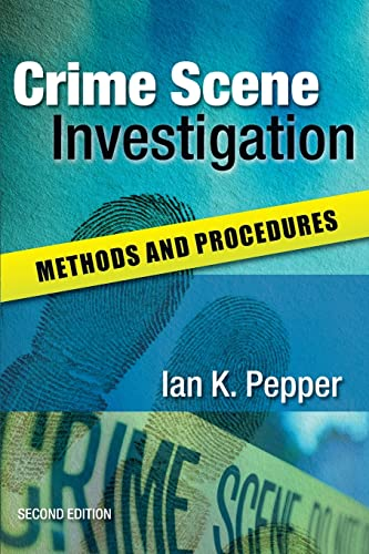 9780335234417: Crime Scene Investigation: Methods and Procedures