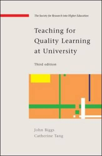 9780335235063: Teaching for Quality Learning at University