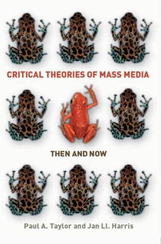 9780335235285: Critical Theories of Mass Media