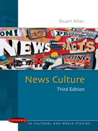 9780335235650: News culture (Issues in Cultural and Media Studies (Paperback))