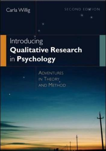 9780335236343: Introducing Qualitative Research in Psychology