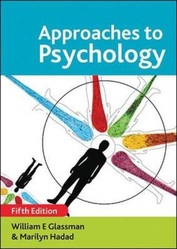 9780335237579: Approaches to Psychology