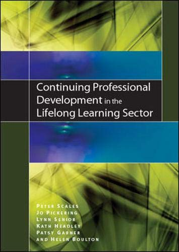 9780335238187: Continuing Professional Development in the Lifelong Learning Sector