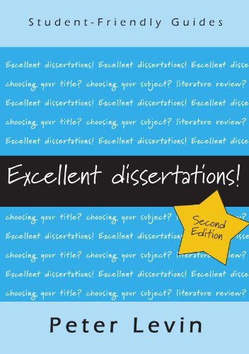 9780335238613: Excellent Dissertations! (Student-Friendly Guides)