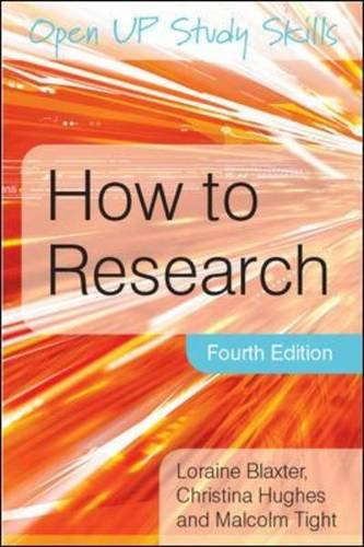 9780335238682: How to Research