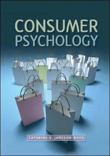 9780335239795: Consumer Psychology