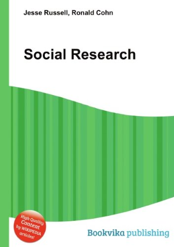 9780335239986: Social Research