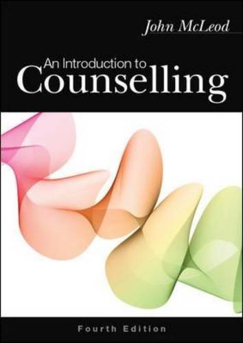 9780335240036: An Introduction to Counselling