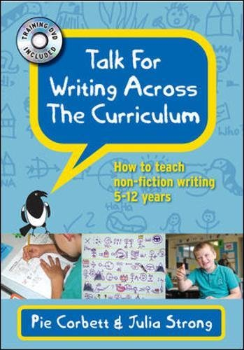 9780335240883: Talk for Writing across the Curriculum with DVD: How to teach non-fiction writing 5-12 years (UK Higher Education OUP Humanities & Social Sciences Education OUP)