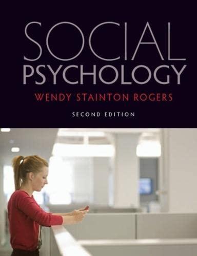 9780335240999: Social Psychology