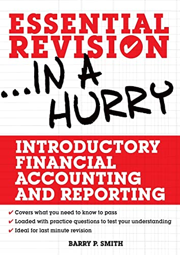 Introductory Financial Accounting and Reporting: Smith, Barry