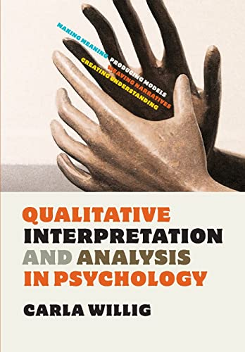 9780335241415: Qualitative interpretation and analysis in psychology (UK Higher Education OUP Psychology)