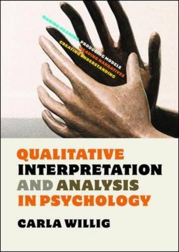 9780335241439: Qualitative Interpretation and Analysis in Psychology
