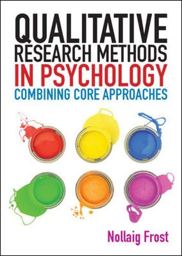 9780335241507: Qualitative Research Methods in Psychology: Combining Core Approaches