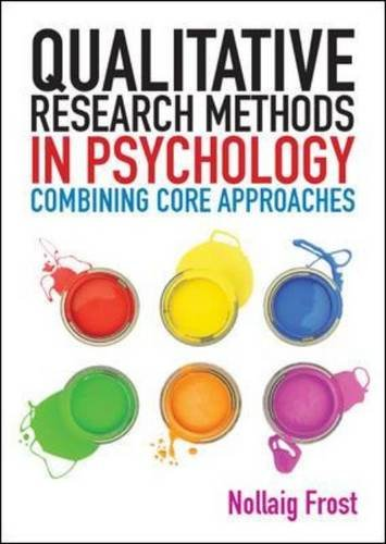 9780335241521: Qualitative Research Methods in Psychology