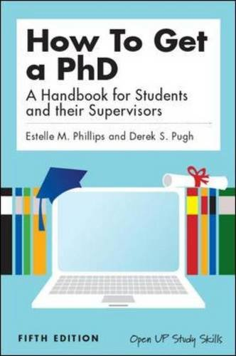 9780335242030: How to get a PhD: a handbook for students and their supervisors