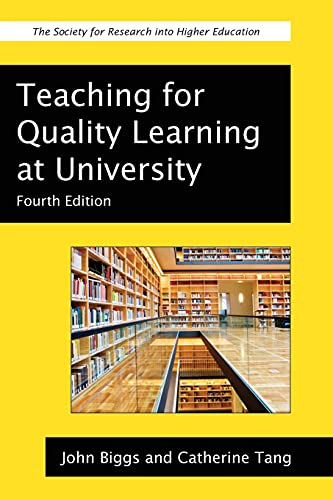 9780335242757: Teaching for Quality Learning at University (Society for Research Into Higher Education)