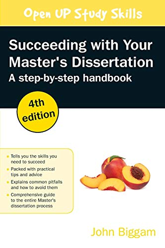 9780335243211: Succeeding with Your Master's Dissertation: Step-by-step Handbook, 4th Edition: Step-by-step Handbook, 4th Edition: Step-by-step Handbook (UK Higher ... Humanities & Social Sciences Study Skills)