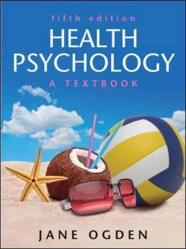 9780335243846: Health Psychology: A textbook