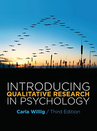 9780335244492: Introducing Qualitative Research in Psychology Third Edition