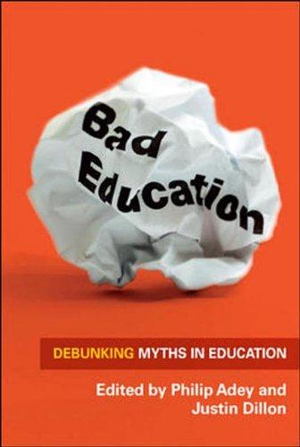 9780335246021: Bad Education: Debunking Myths in Education
