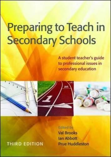 9780335246335: Preparing to Teach in Secondary Schools