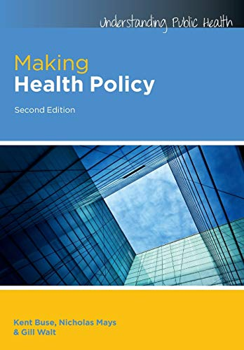 9780335246342: Making Health Policy