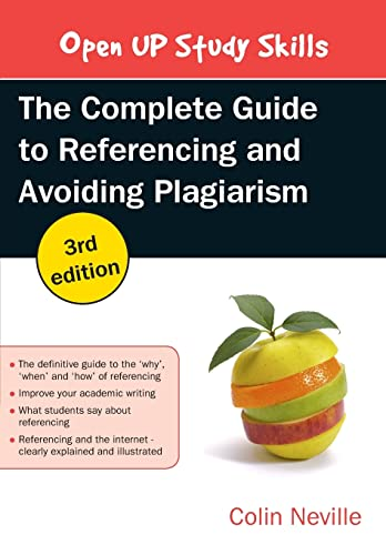 9780335262021: THE COMPLETE GUIDE TO REFERENCING AND AVOIDING PLAGIARISM