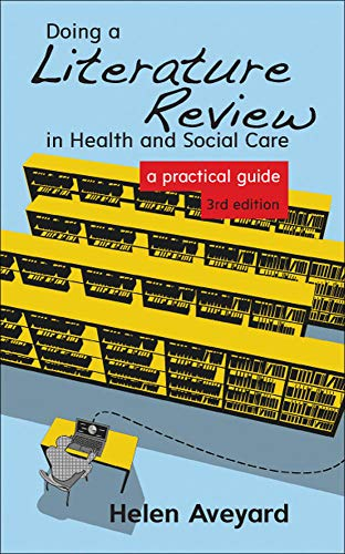 9780335263073: Doing A Literature Review In Health And Social Care: A Practical Guide