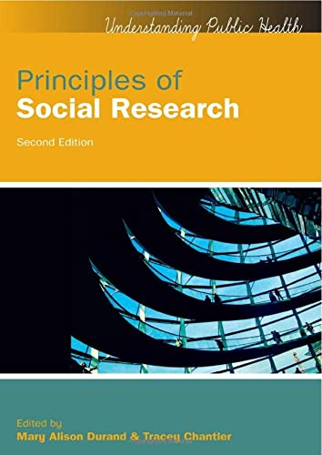 9780335263301: Principles of Social Research (UK Higher Education OUP Humanities & Social Sciences Health)